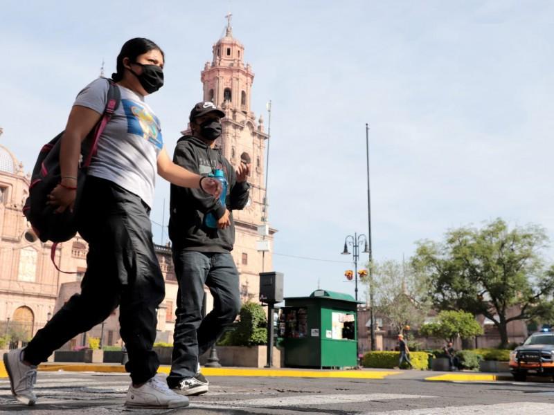 Registra Michoacán 35 nuevos casos de Covid 19 este martes