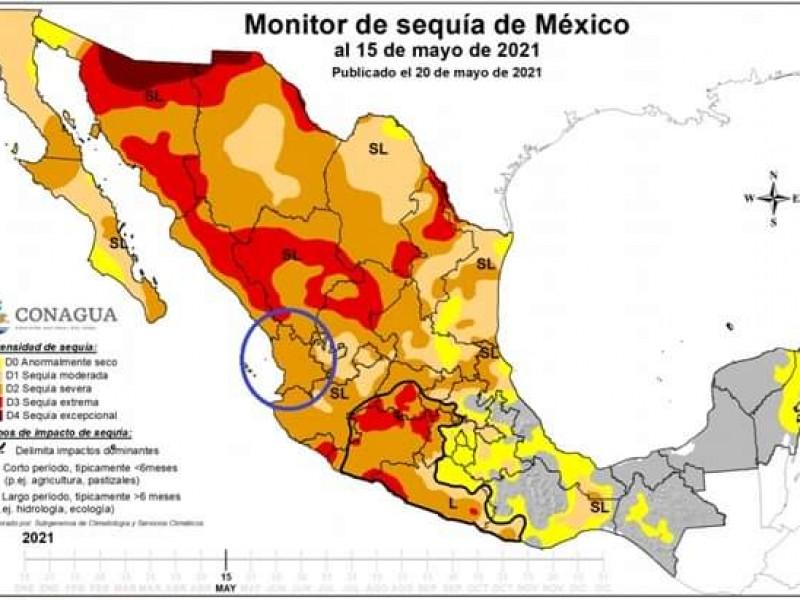 Registra Nayarit nivel de sequía severa confirma Sistema Monitor Nacional