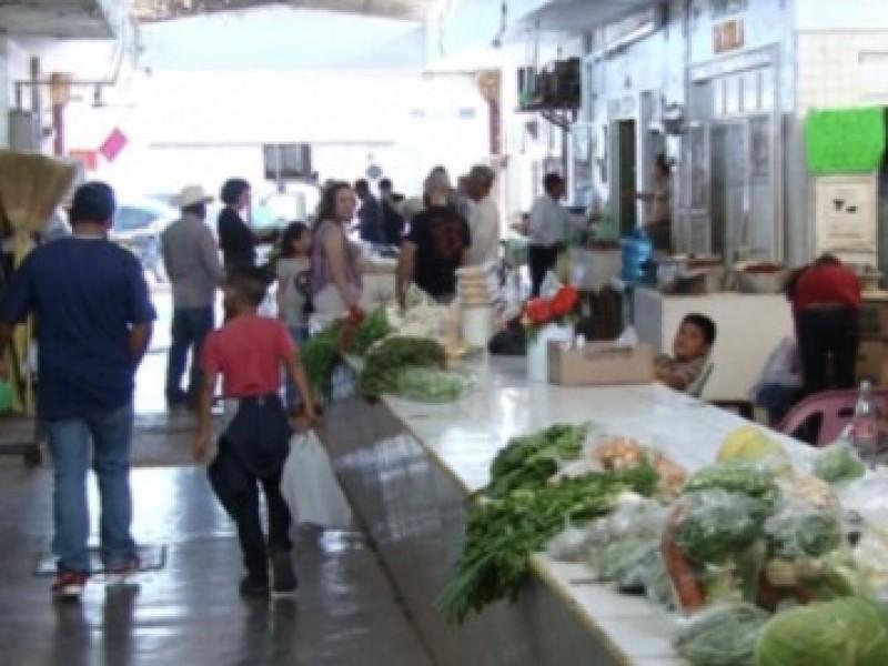 Registra un 20% de ventas reactivación económica del Mercado Municipal