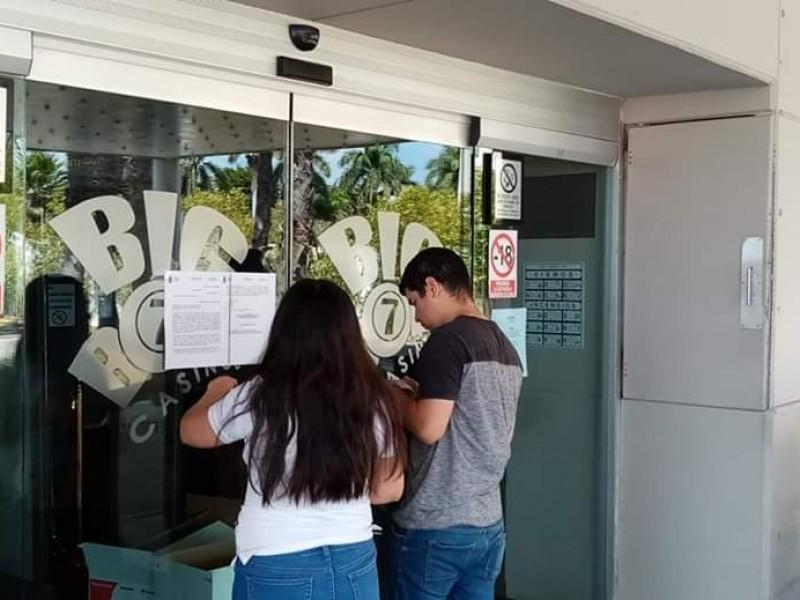 Registran cierre de comercios en los Mochis ante coronavirus