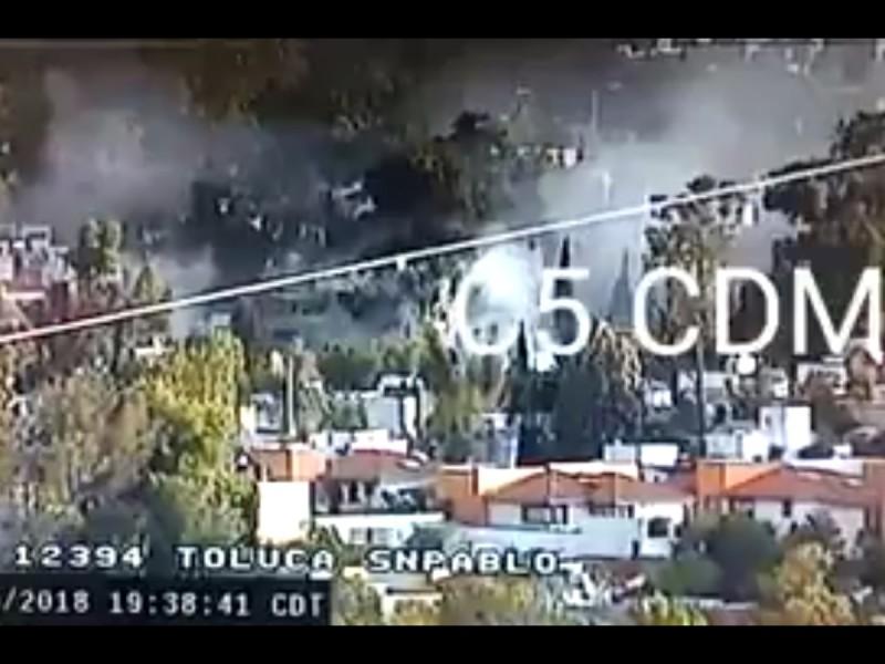Registran dos incendios en la CDMX