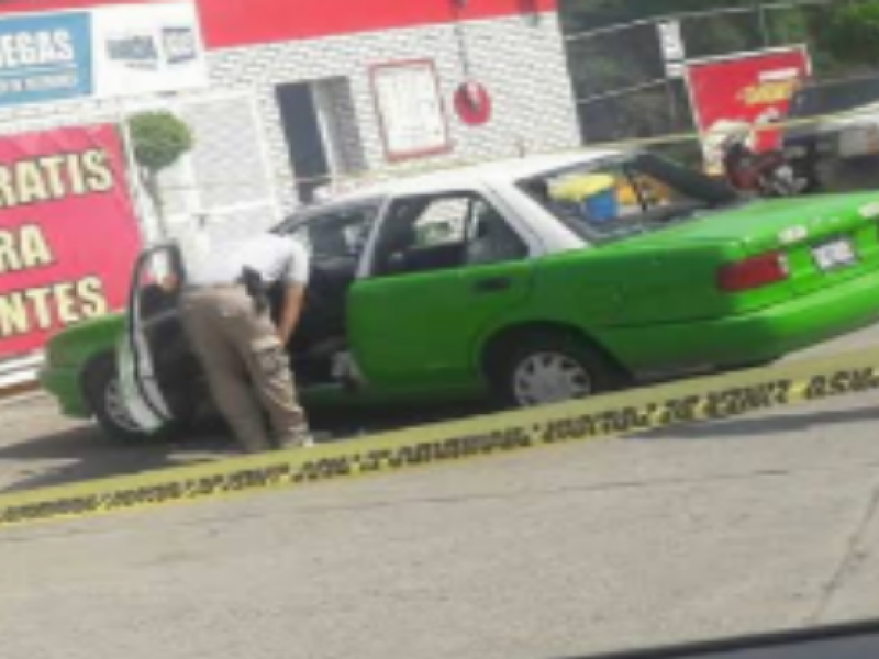 Registran taxistas perdidas millonarias e inseguridad en contingencia