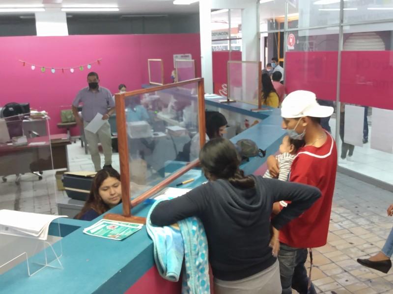Registro Civil opera al 25% de su capacidad por pandemia