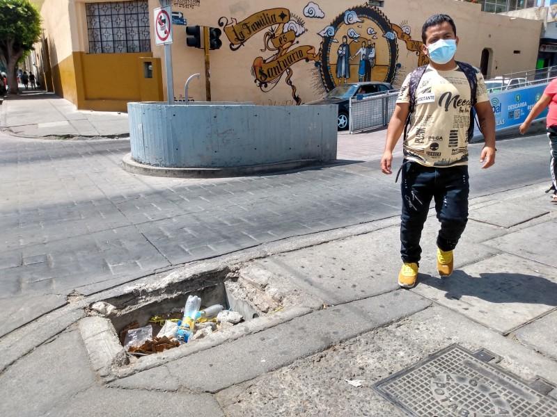 Registro mortal en avenida Valverde y Téllez