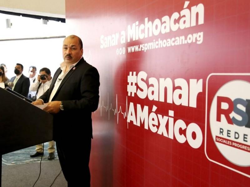 Regresa IEM candidatura a Abraham Sánchez con Redes Sociales Progresistas