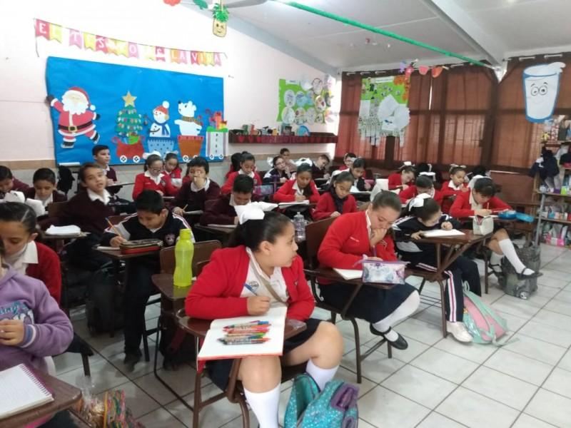 Regresan a clases instituciones del Municipio de Ahome