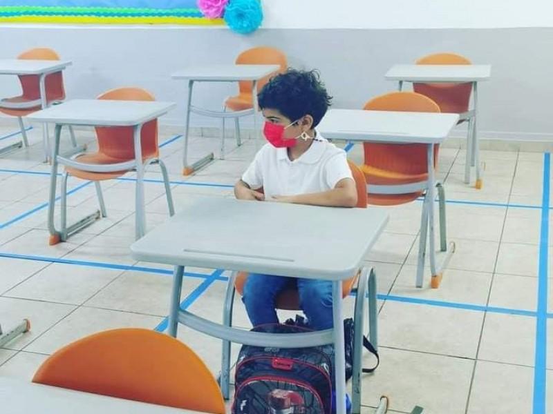 Regresan a clases niños en Sonora
