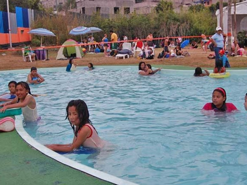 Regresan las albercas gratuitas a Iztapalapa estas vacaciones