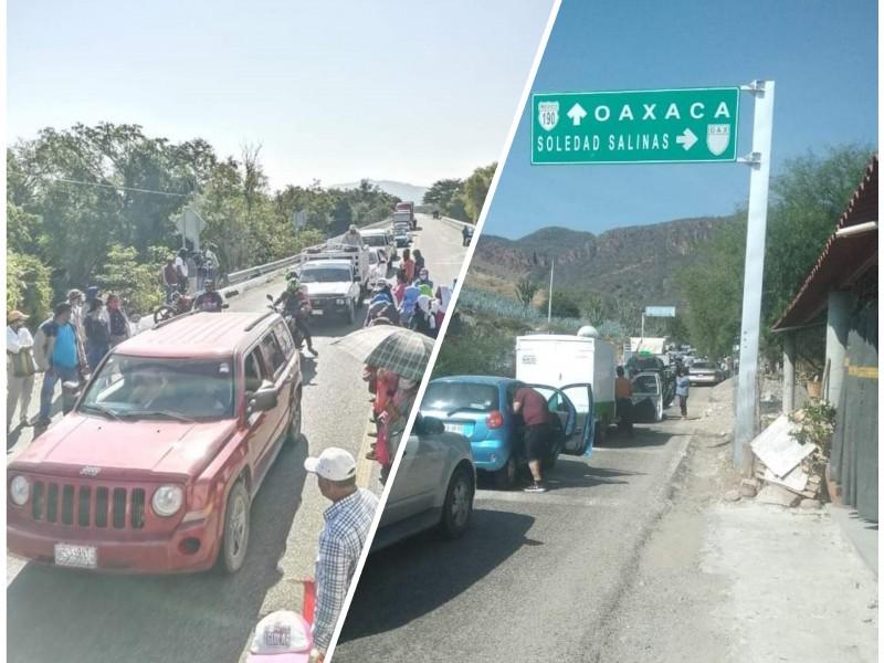 Regresan los bloqueos carreteros en el Istmo de Tehuantepec