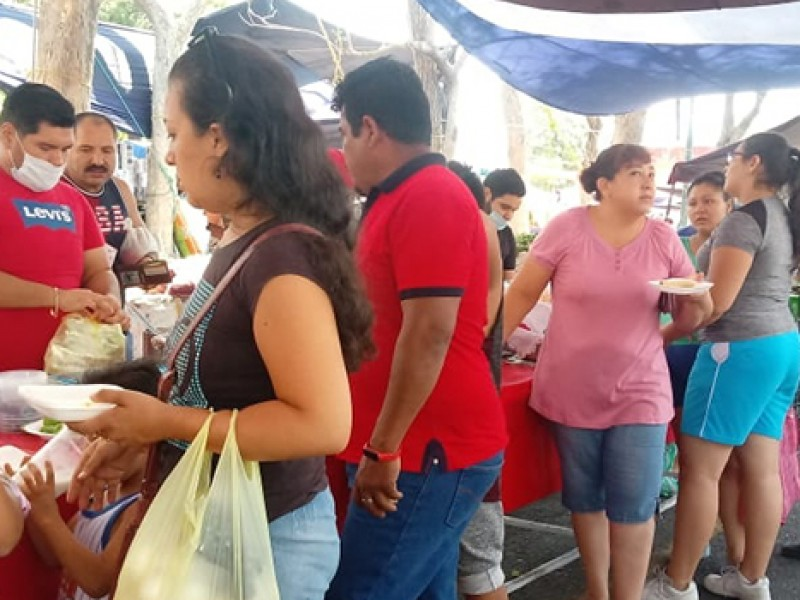 Regresan los tianguis a Villa de Álvarez