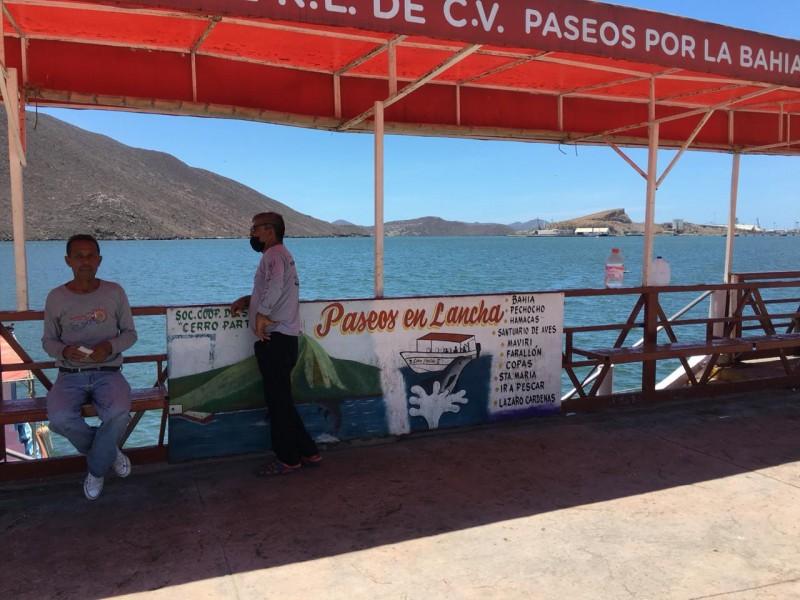 Regreso favorable para prestadores de servicios en Topolobampo