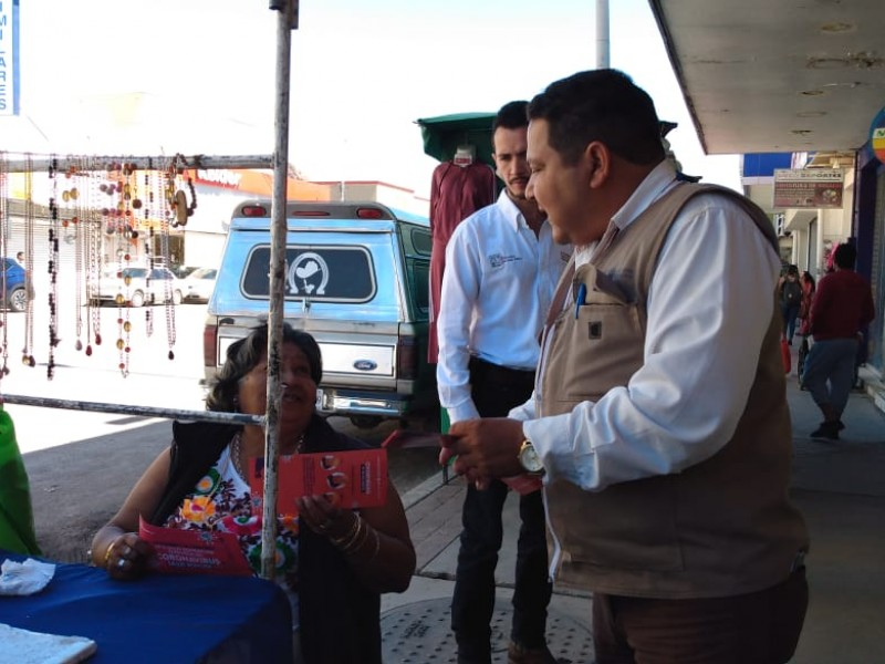 Regulación Sanitaria inicia campaña en centro de Guaymas