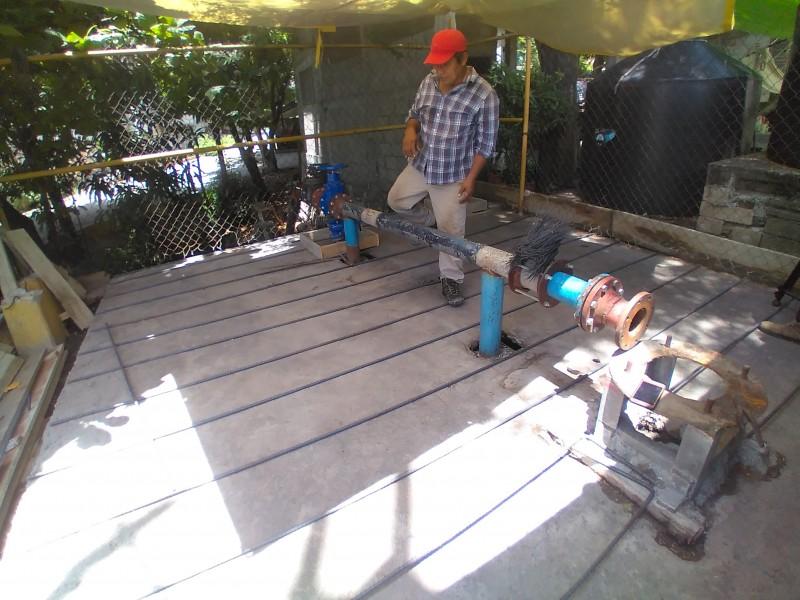 Rehabilita SAP sobrelosa en la Colonia San Pablo Sur