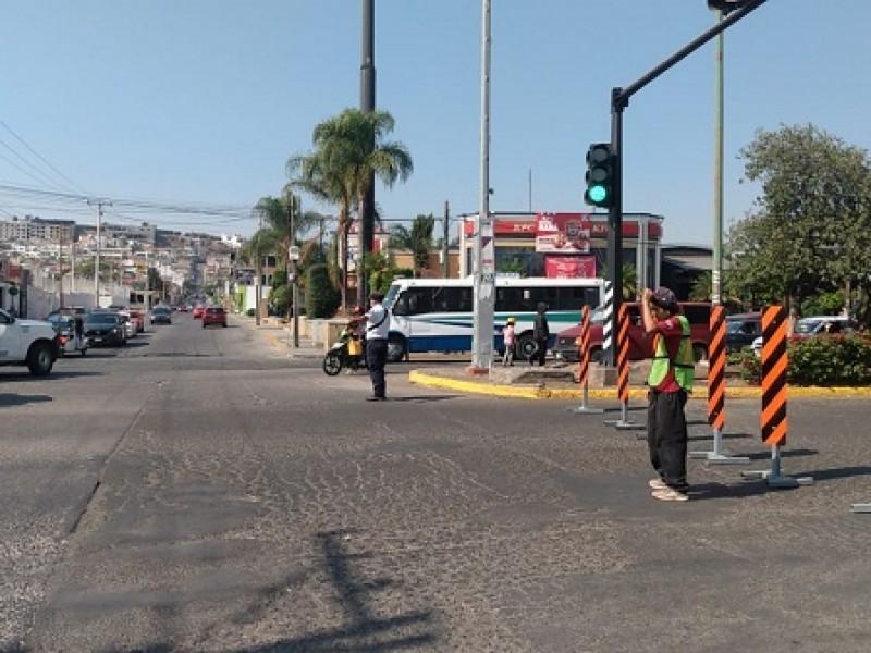 Rehabilitan acceso a Puente de Cuota La Piedad