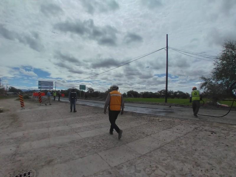 Rehabilitan carretera León - Santa Rosa – Manuel Doblado