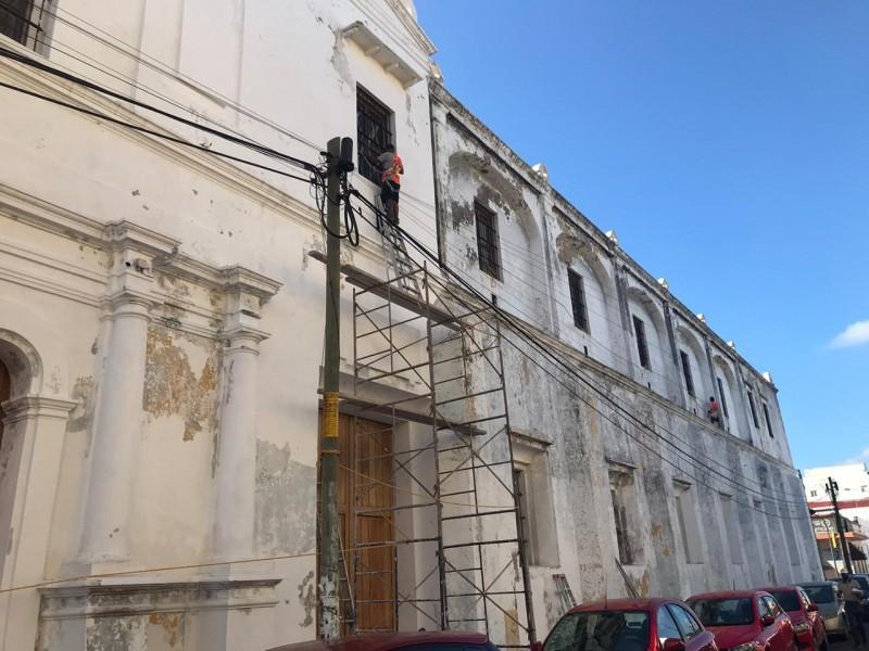 Rehabilitan edificio sede de la cultura en Veracruz