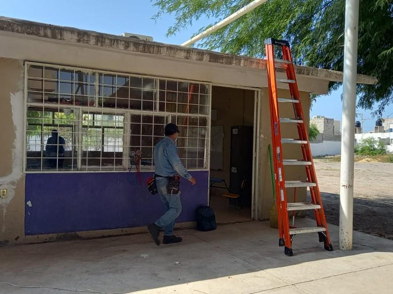 Rehabilitan escuelas de ciudad Lerdo por regreso a clases