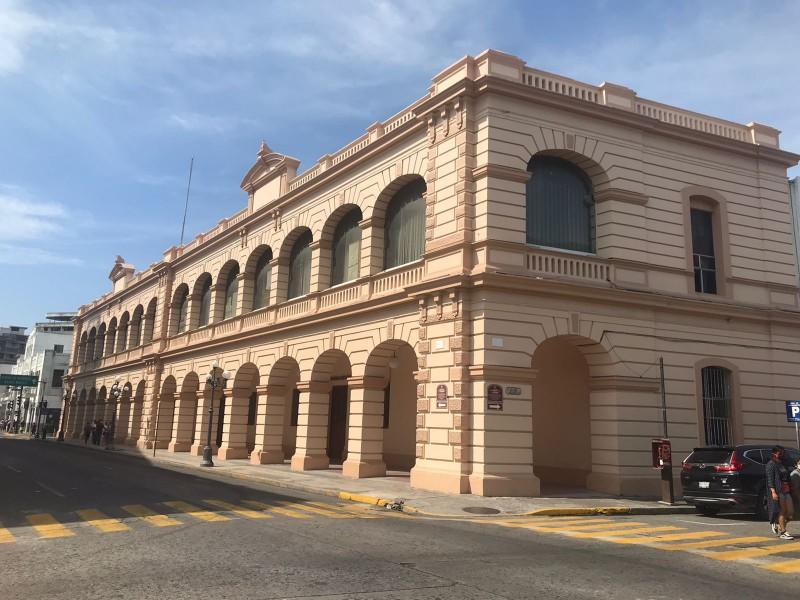 Rehabilitan Palacio Federal en Veracruz