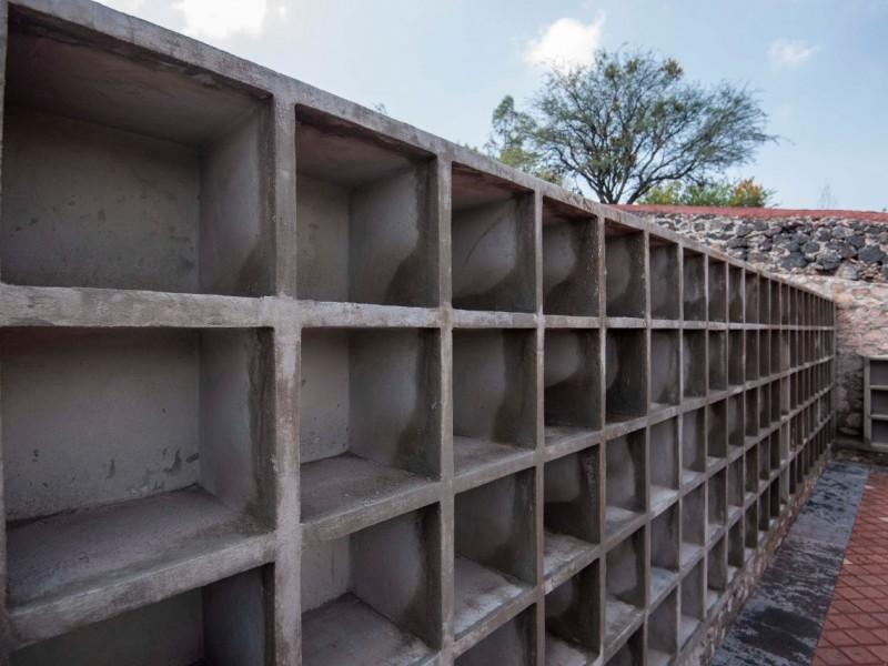 Rehabilitan panteón de La Cañada