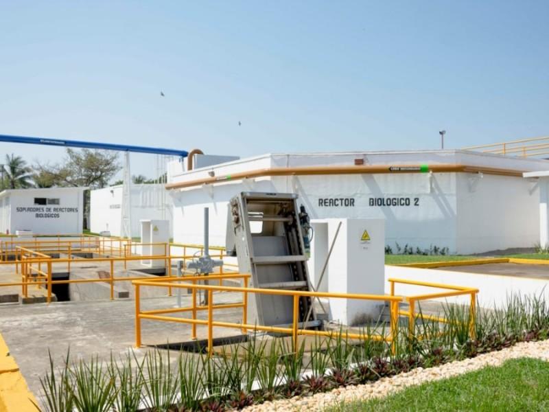 Rehabilitan planta de tratamiento en Boca del Río