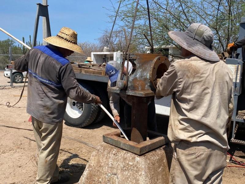 Rehabilitan pozos de OOMSAPAS para aumentar suministro