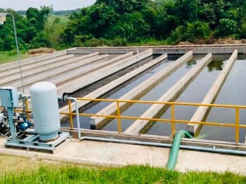 Rehabilitan red de agua en Poza Rica