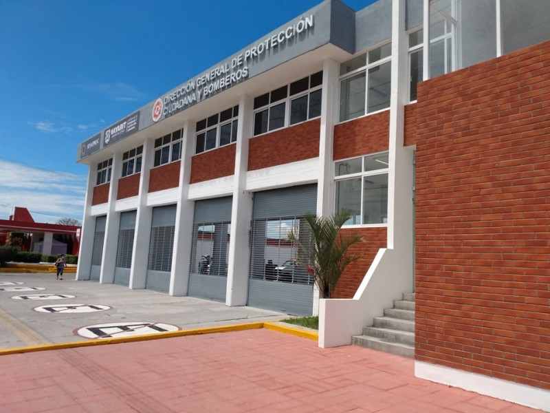 Reinauguran la Estación de Bomberos de Nayarit