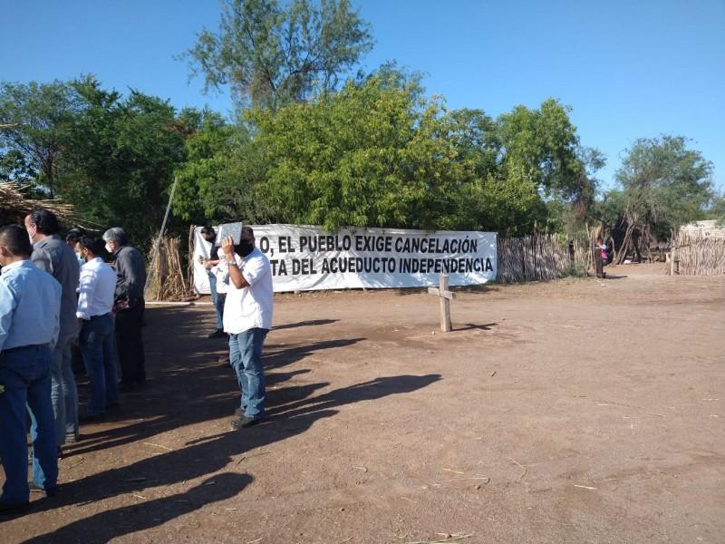 Reinicia rebombeo Acueducto Yaqui-Guaymas