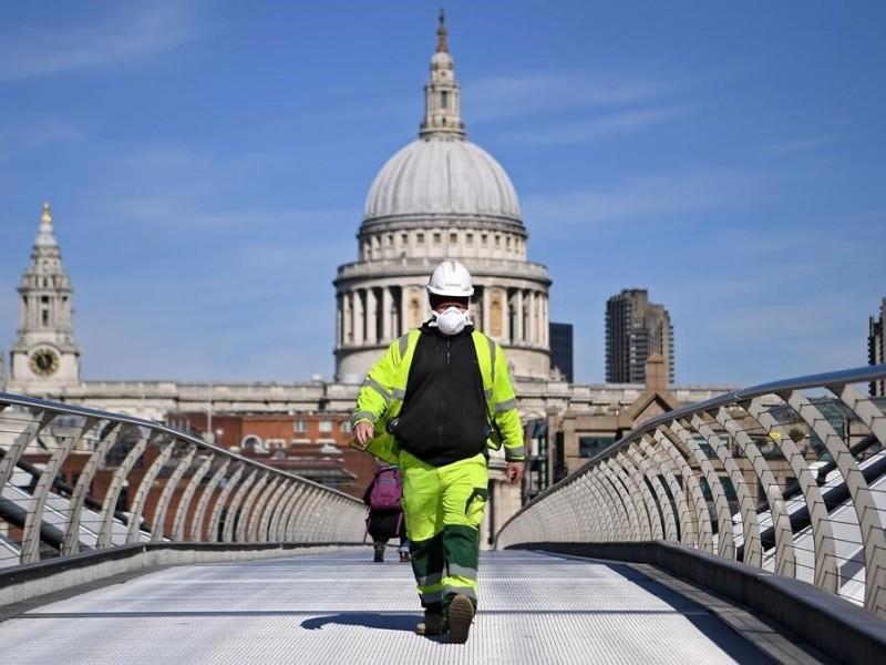 Reino Unido registra más de 14 mil nuevos contagios Covid-19