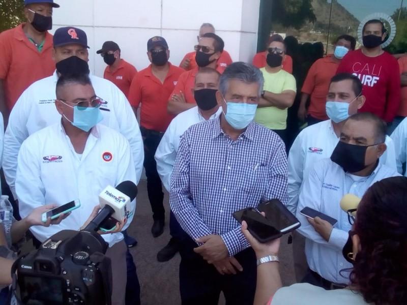 Reiteran transportistas huelga para el próximo martes