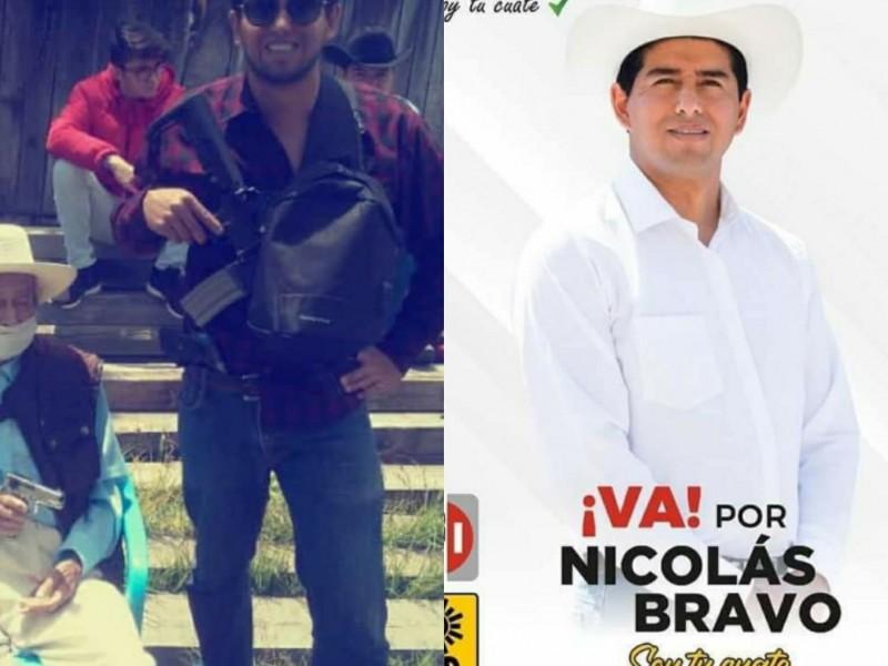 Relacionan a candidato de Nicolás Bravo con grupo de Autodefensa
