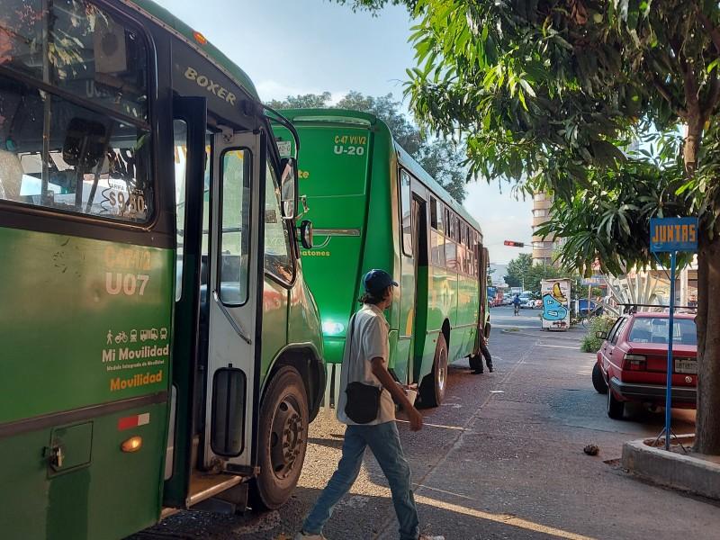 Relajan medidas en el Transporte Público