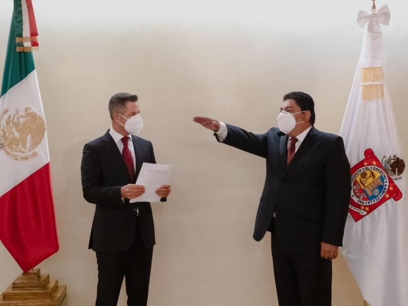 Relevan a titular de la Secretaría General de Gobierno