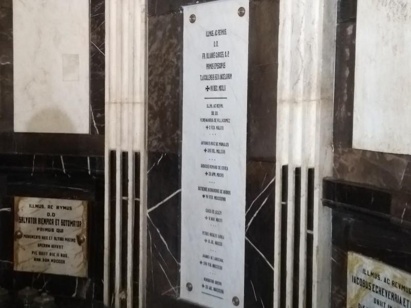 Religiosos podrán visitar la capilla de las Reliquias