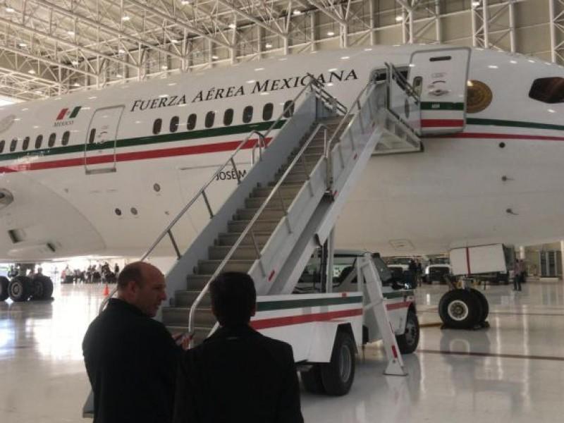 $Rematan avión presidencial  en 130 mdd