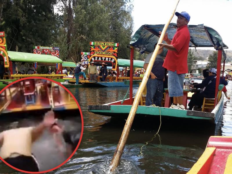 📹🚨Remeros se burlan de la tragedia en Xochimilco