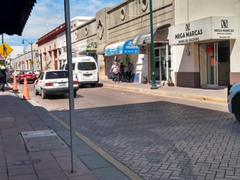 Remodelación del centro histórico afectó al transporte