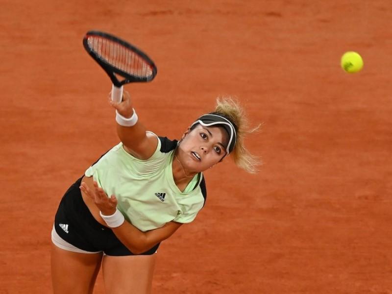 Renata Zarazua es eliminada del Roland Garros