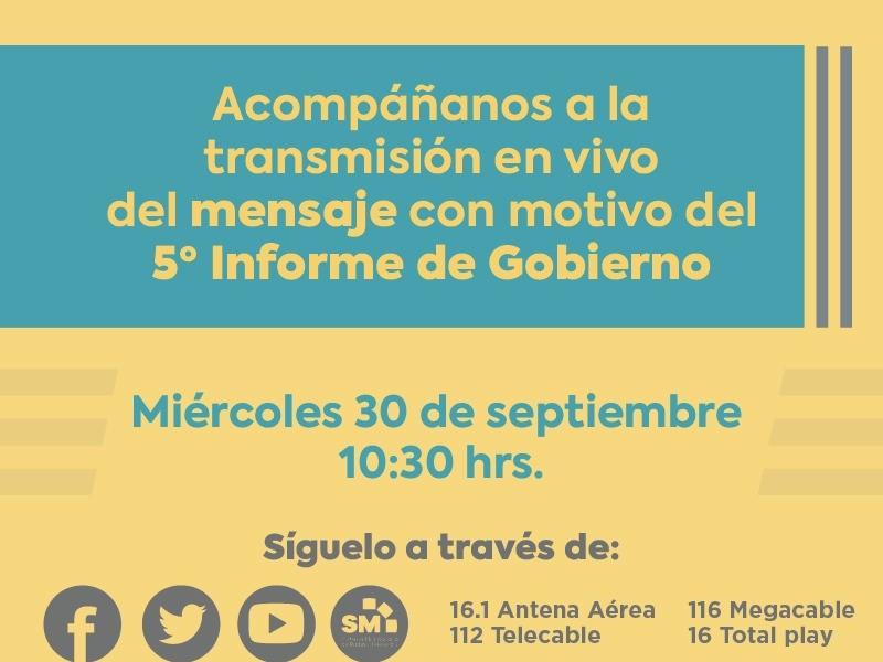 Rendirá Silvano Aureoles Quinto Informe de Gobierno virtual