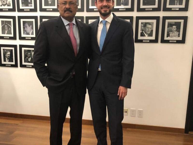 René Juárez deja un legado a su partido: Paul Ospital