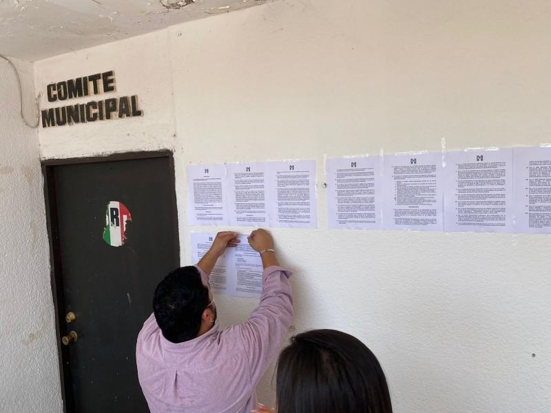 Renovará PRI Guaymas la Asamblea Municipal el 6 de Noviembre