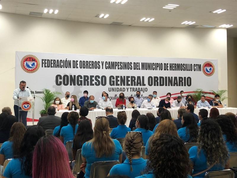 Renuevan Comité Ejecutivo de CTM Hermosillo