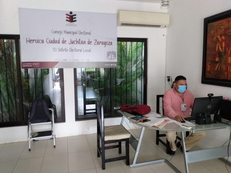 Renuncia el Presidente del Consejo Municipal Electoral de Juchitán