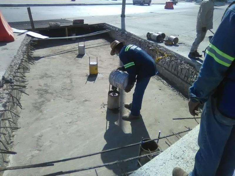 Repara Obras Públicas dren pluvial del malecón Malpica