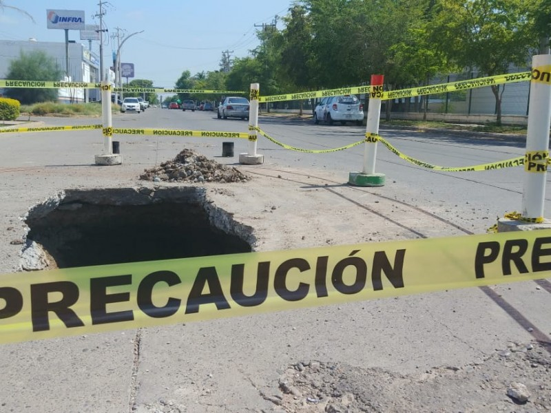 Reparación de socavones irá por turnos en Ahome: Japama