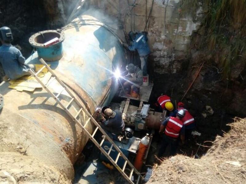 Reparaciones al Cutzamala evitarán fallas de suministro