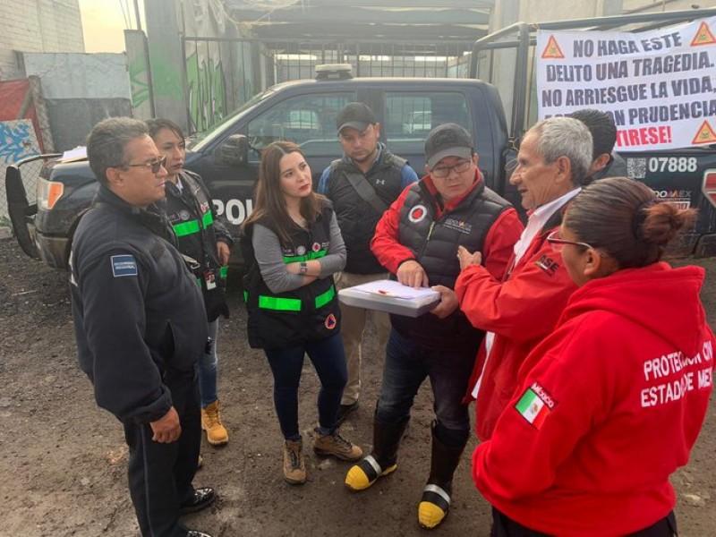 Reparan ducto de Pemex en Tezoyuca