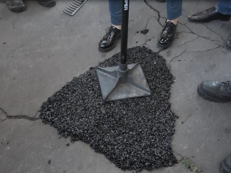 Reparan el bache 10 mil en Puebla