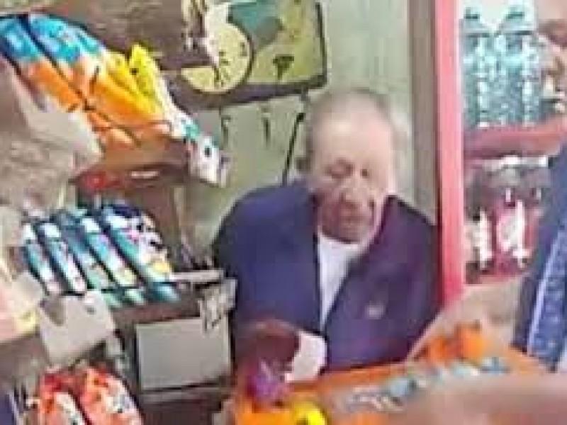 📹Captan a repartidor robandole a un abuelito