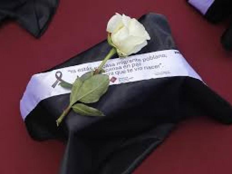 Repatrian 13 cuerpos de migrantes poblanos fallecidos por COVID
